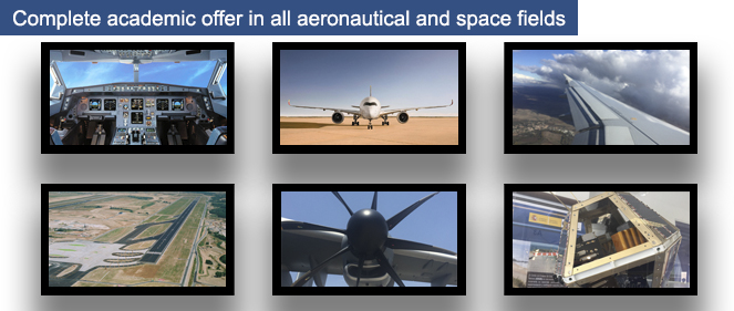Complete academic offer in all aeronautical and space fields